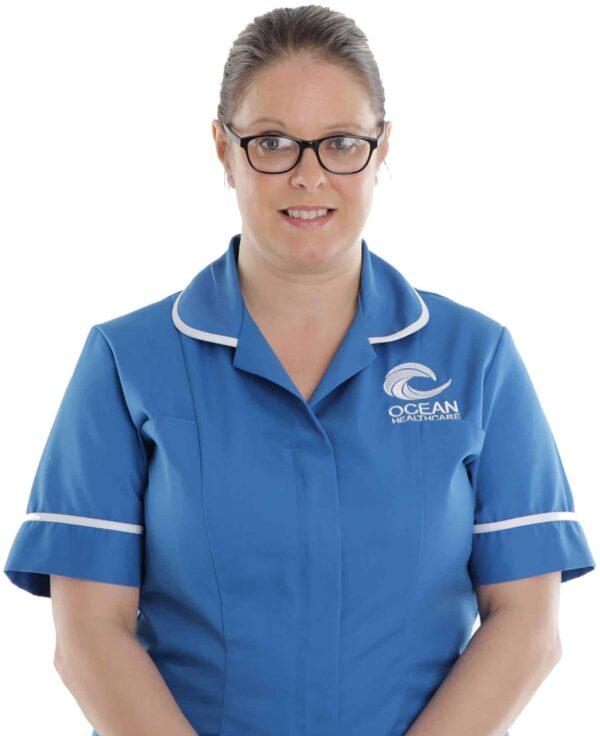 HCA / Healthcare Assistant in Ocean uniform