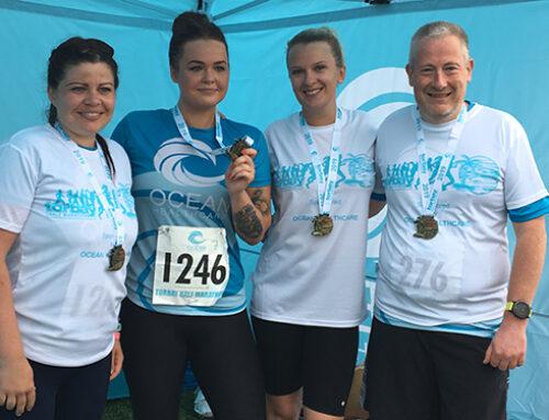 Ocean runners raises over £1,200 for local charities